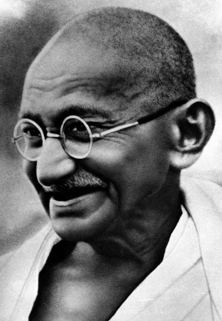 Mahatma Gandhi was the preeminent leader of Indian