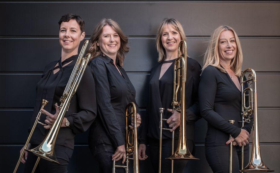 bones apart trombone quartet | Quartet, Trombone, Trombone player