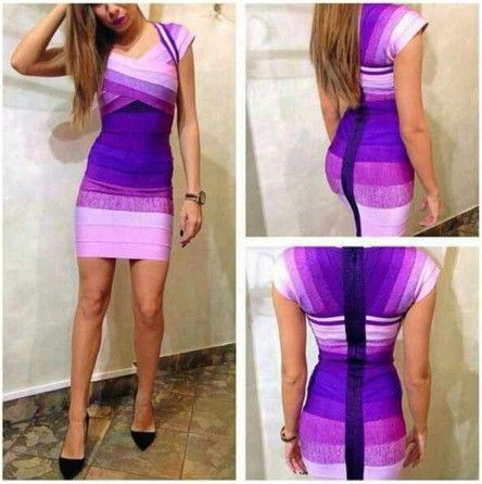 >> Click to Buy << 4 Colors Top Quality HL Short Sleeve Colorful Square Collar Bandage Dress Elegant Bodycon Dress #Affiliate