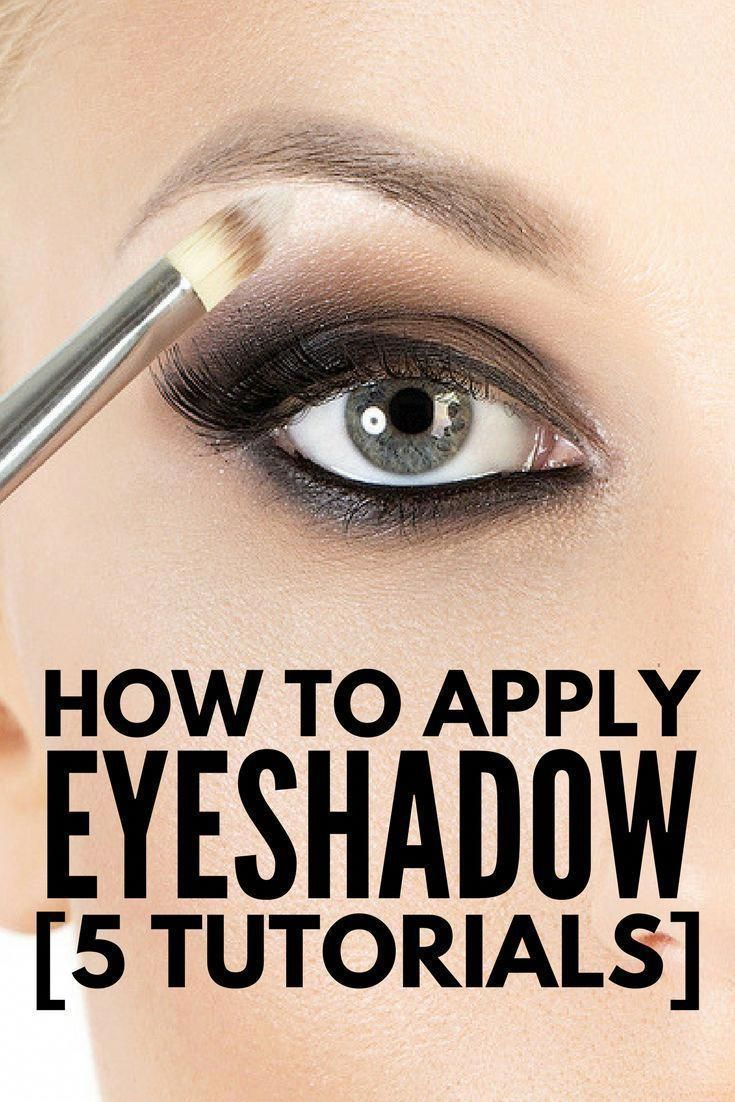 Want to know how to apply eyeshadow properly? These simple