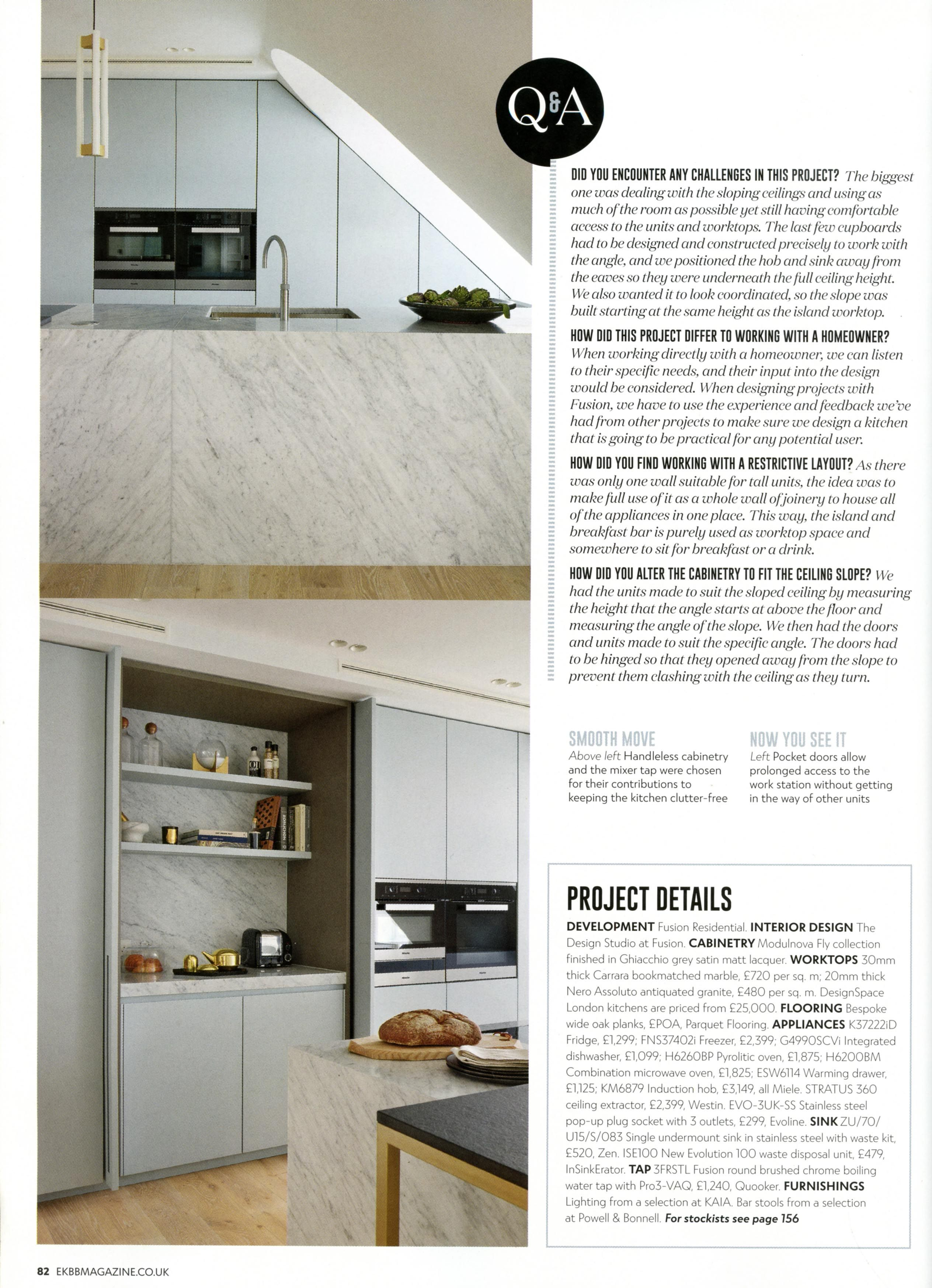 Check out this case study of a beautiful modern kitchen from designspace london essential kitchen
