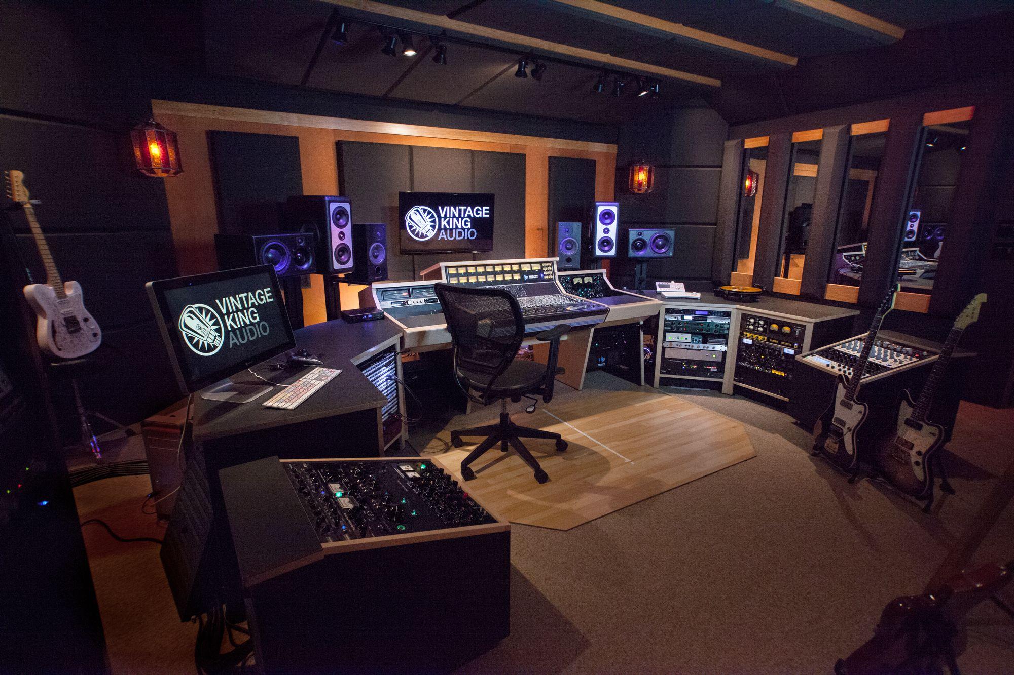 Vintage King Nashville Vintage King Audio The Recording Studio