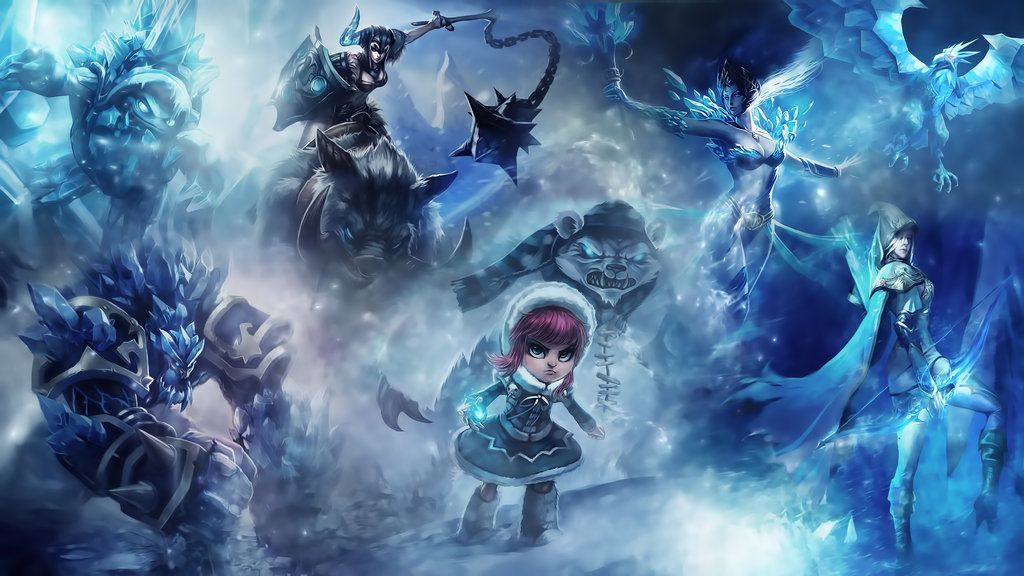 League Of Legends : Frozen Wallpaper by iamsointense on DeviantArt