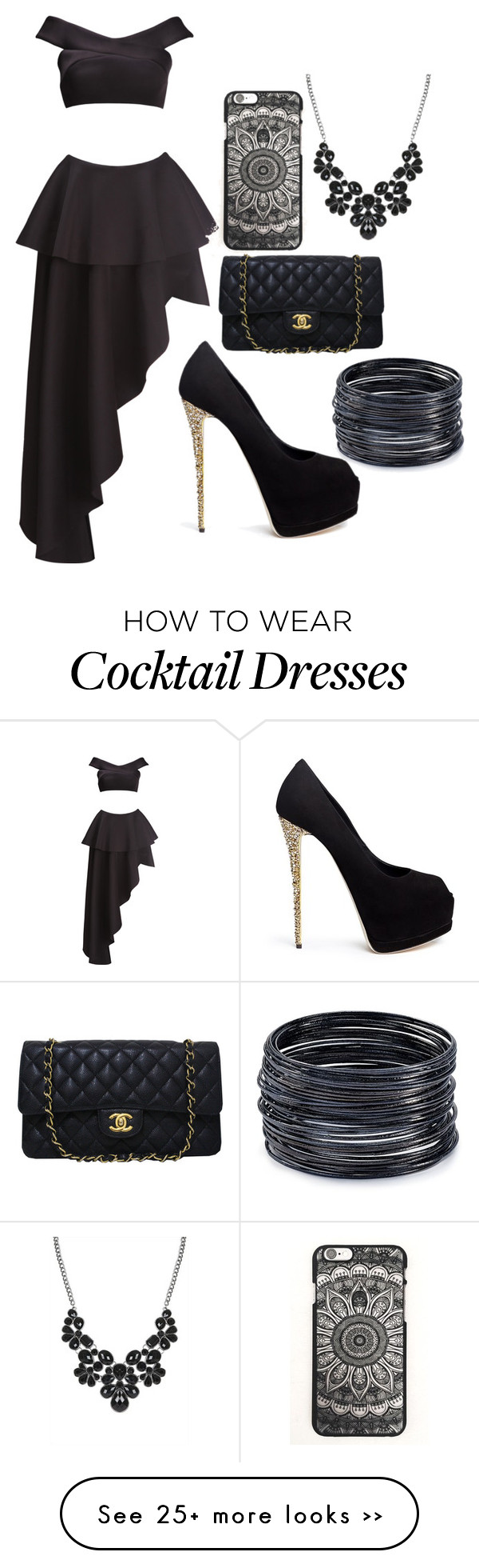 """UNTITLED # 118"" by arianagrande1230 on Polyvore featuring Fame & Partners, Giuseppe Zanotti, Chanel and ABS by Allen Schwartz"