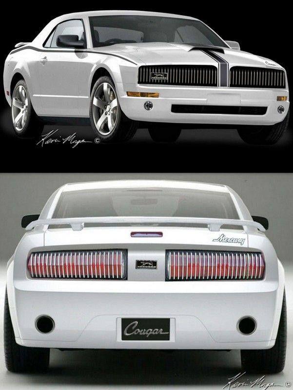 2015 Mercury Cougar >> Mercury Cougar Concept Car Concept Cars Pinterest Cars
