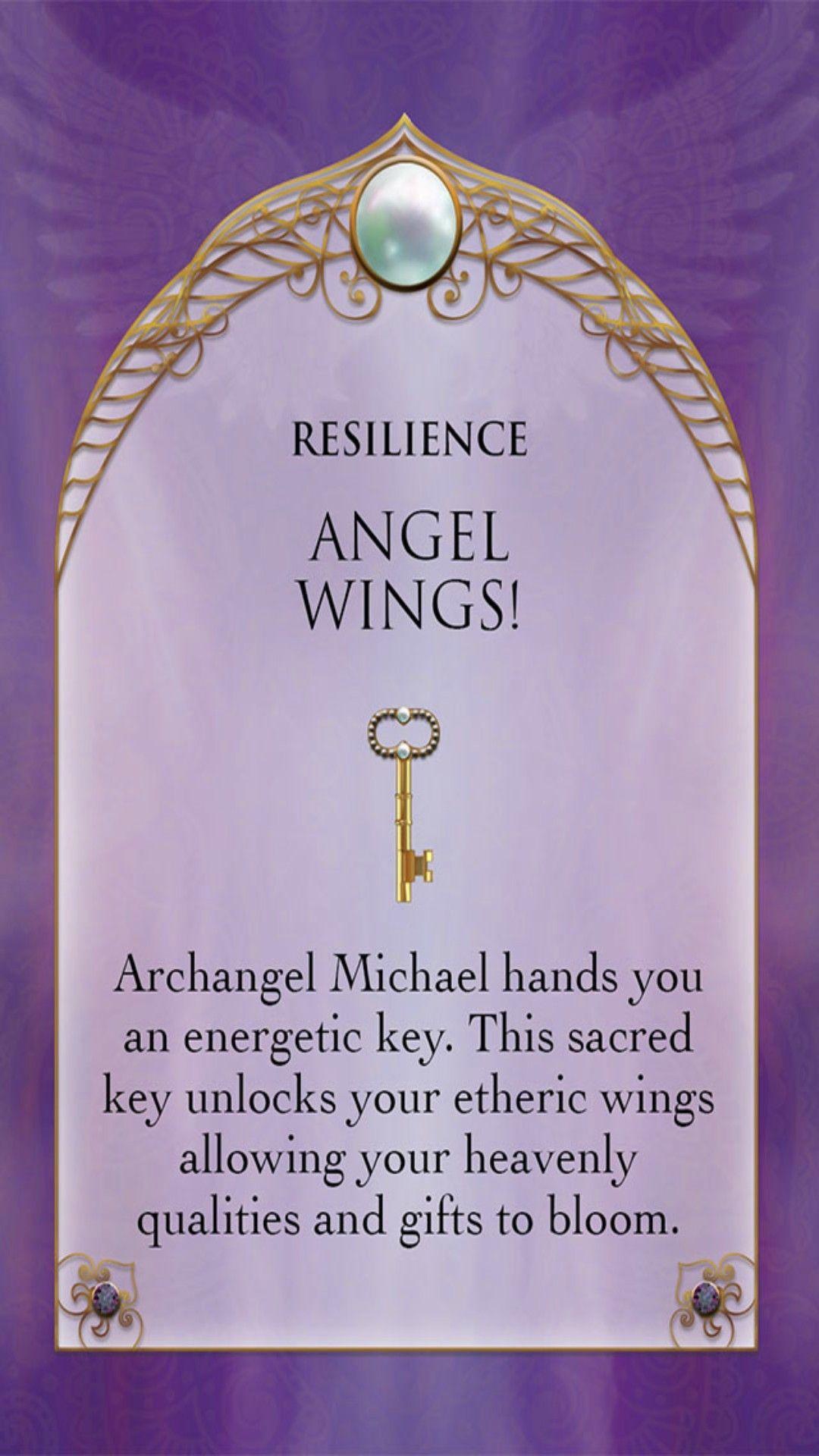 Archangel Michael Sword & Shield Oracle ~ Resilience   Angel