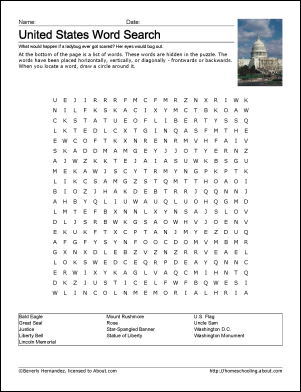 South America Word Search Crossword Puzzle and More Student