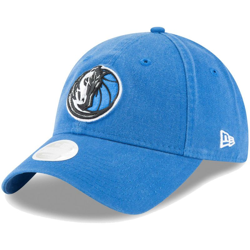 huge discount eb874 c569d Dallas Mavericks New Era Women s Core Classic 9TWENTY Adjustable Hat – Blue