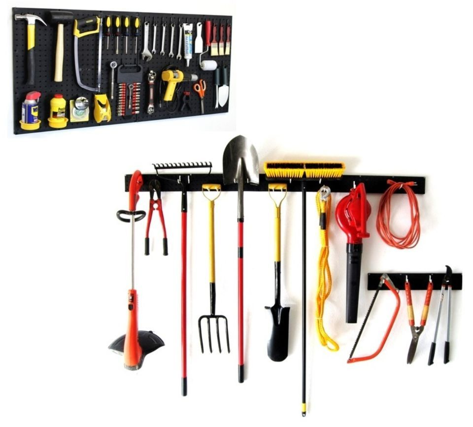 Looking For The Best U0026 Top Rated Wakrays Hand Garden Tool Organizers  Pegboard Garage Storage 96