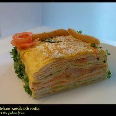 Texmex voileipäkakku broilerilla, gluteeniton - Kotikokki.net - reseptit