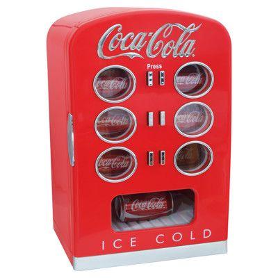 Daily Discovery: Coca-Cola Vending Machine Coolers #dormdecor #dorm #homedecor #gadget