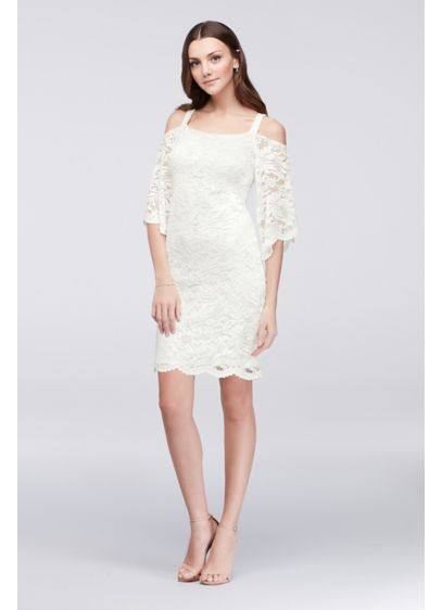 d7b6c5137f85 Short Sheath Off the Shoulder Cocktail and Party Dress - Robbie Bee ...