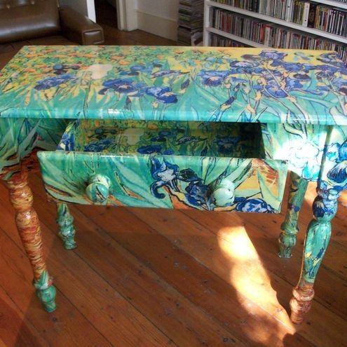 Van Gogh Table Artistic Furniture, Van Gogh Furniture