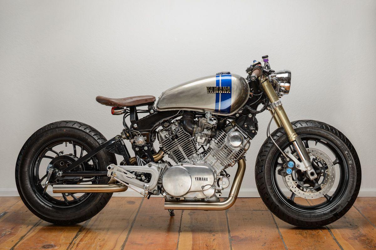 Modified Yamaha Virago 750 XV750 Cafe Racer