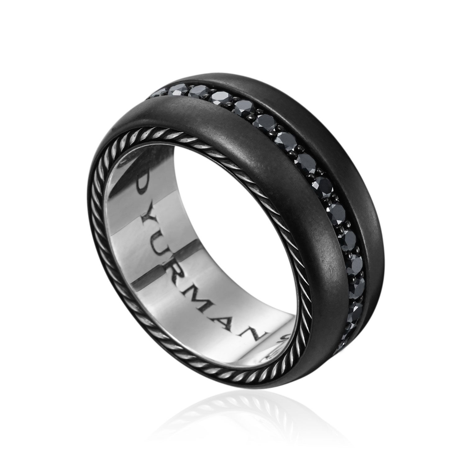 Men's Diamond Rings for More Luxury & Elegance Black
