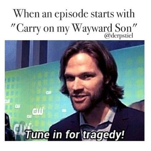 Supernatural - carry on my wayward son lullaby