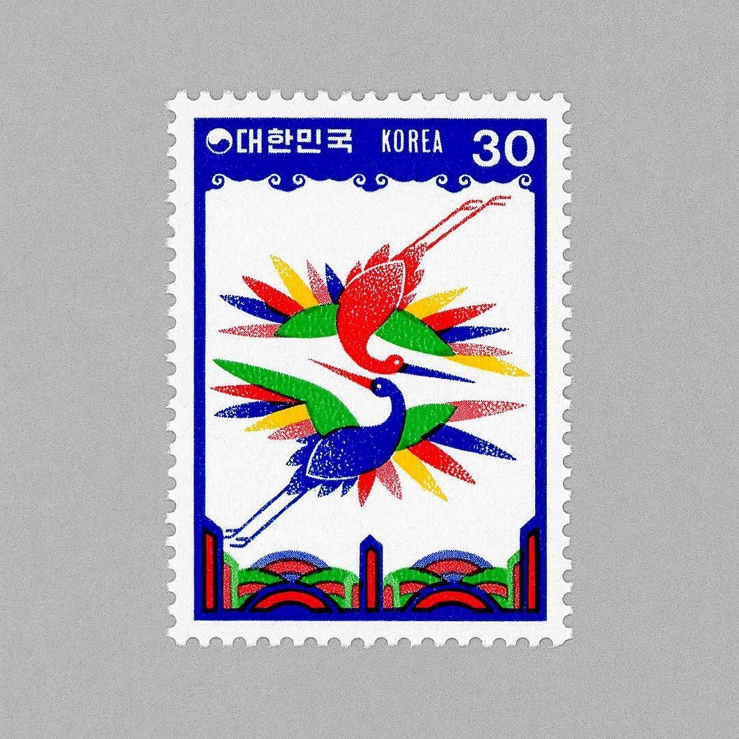 chinese new year year of the rooster south korea 1980 design yea - Chinese New Year 1980