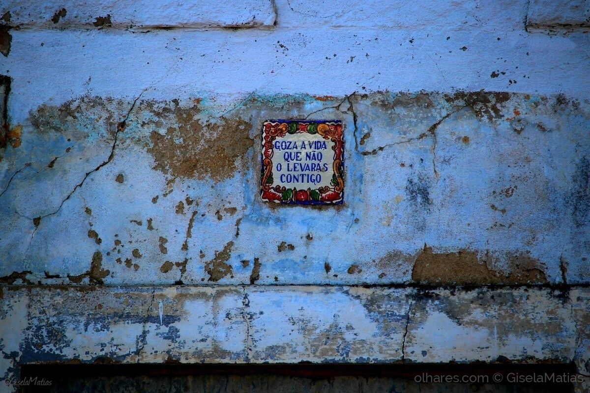 Azulejo português no Ribatejo.