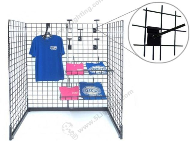 #Gridwall #Display #Lighting For #Trade Show / #Exhibition Gridwall Stand  Lighting
