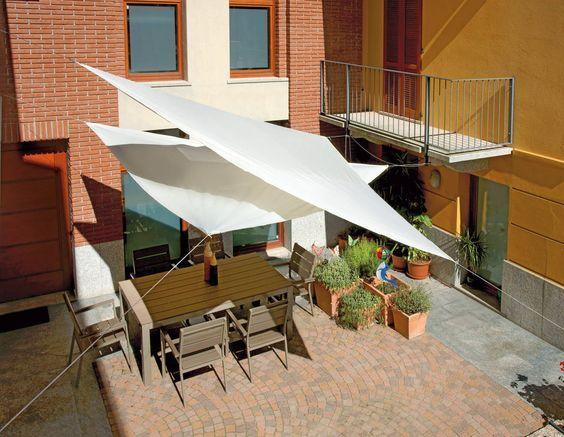 28 Diseños de toldos para terrazas Patios and House