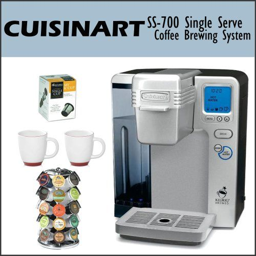 Keurig Coffee Maker Overflows : Cuisinart SS-700 Single Serve Coffee Brewing Holiday Adds Great Products Pinterest ...
