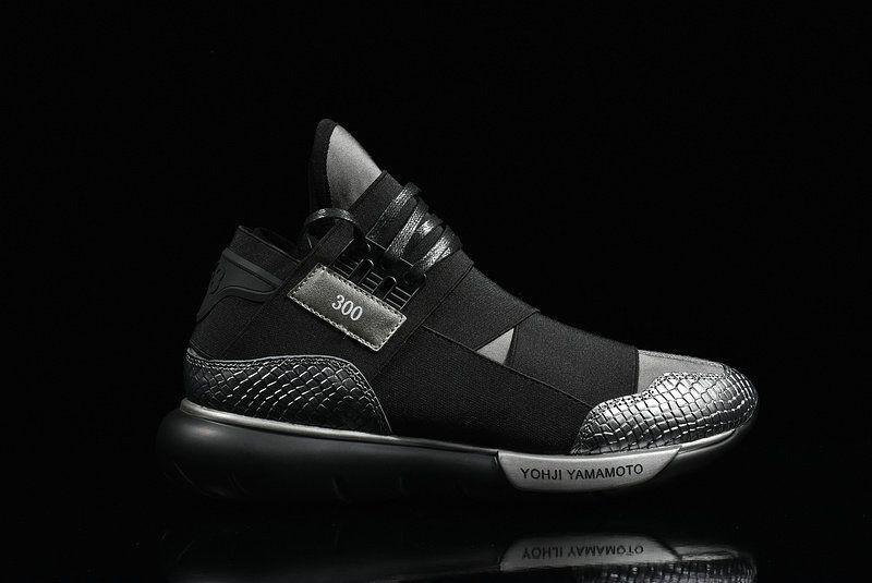 wholesale dealer 0889e 8da78 Latest and Cheapest Adidas Y3 Qasa High Yohji Yamamoto Black Noir Youth Big  Boys Sneakers