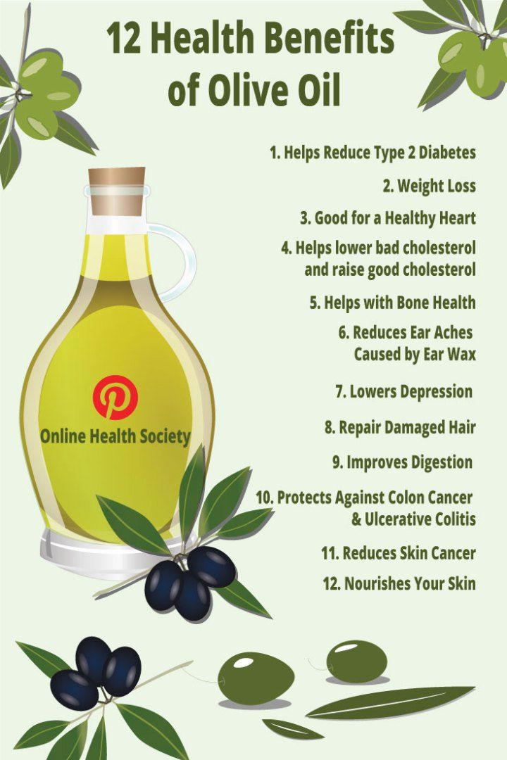 6 Health Benefits of Using Olive Oil