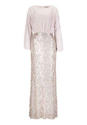 Vera Mont Abendkleid, Cappuccino Cream - Rot | Fashion ...