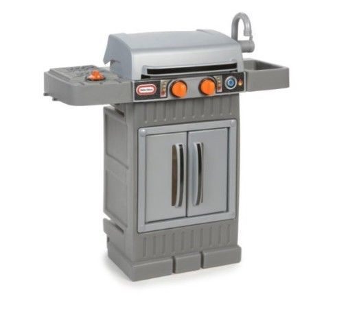 Kitchen Toy Grill Bbq N Cook Grow Play Backyard Barbeque Outdoor Toy Set New Littletikes Bbq Grill Grilling Bbq