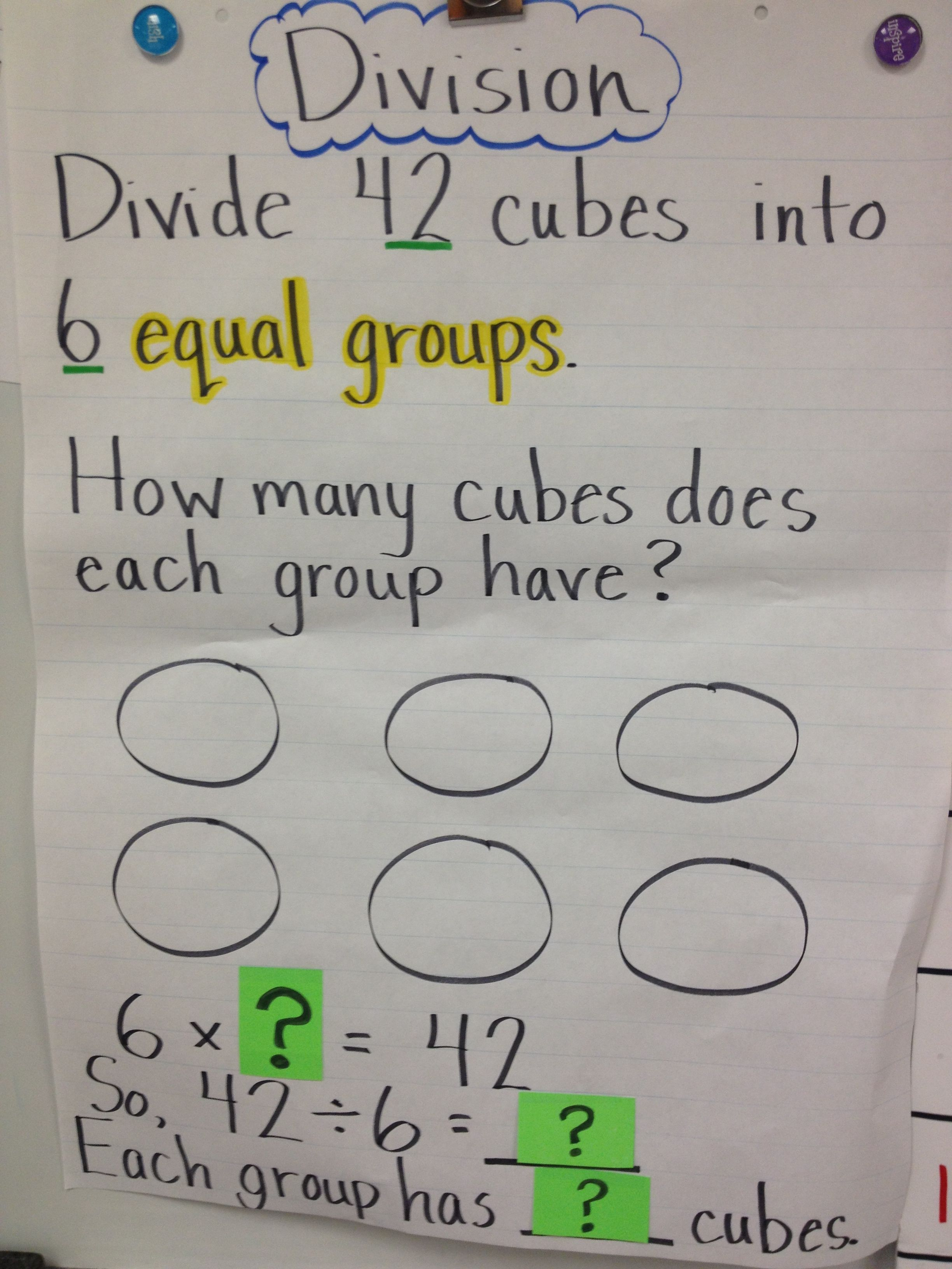 Division Making Equal Groups