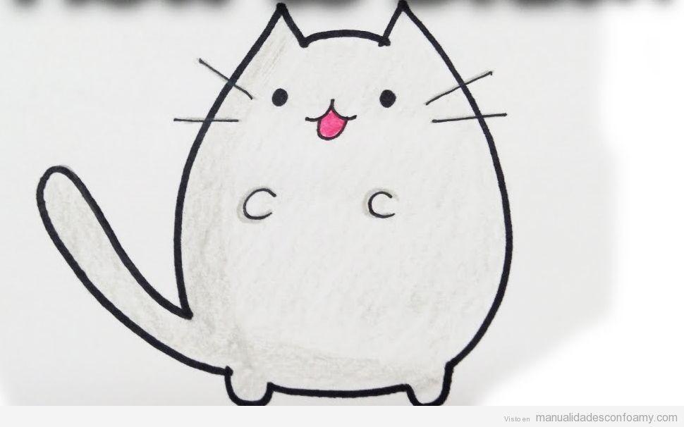 Dibujo Fácil Gato Baby Showers