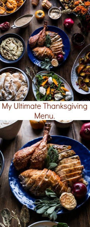 My Ultimate Thanksgiving Menu