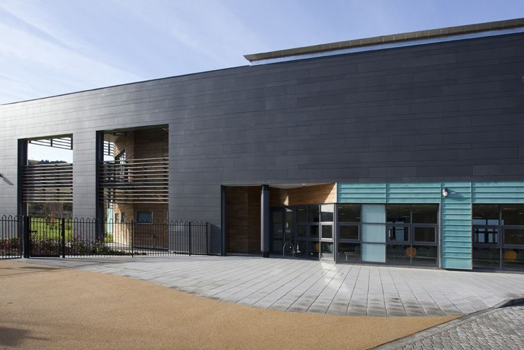 Natura Fibre Cement Cladding Used on Hospital in 2019
