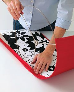 Diy lampshade dyi and crafts pinterest diy lampshade supply diy lampshade instructions definitely doable supply list lampshade rings double stick adhesive paper fabric plain inside patterned outside aloadofball Gallery