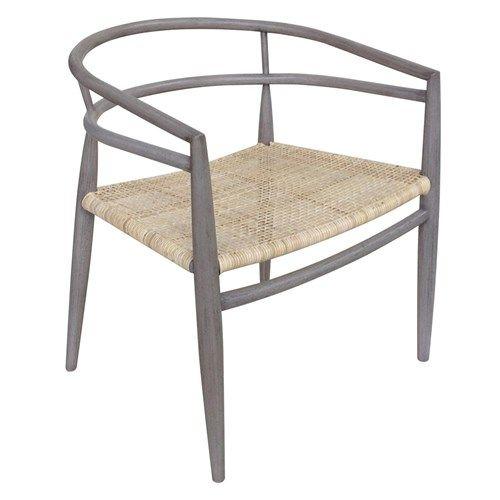 Noir Finley Chair Dusk Rattan