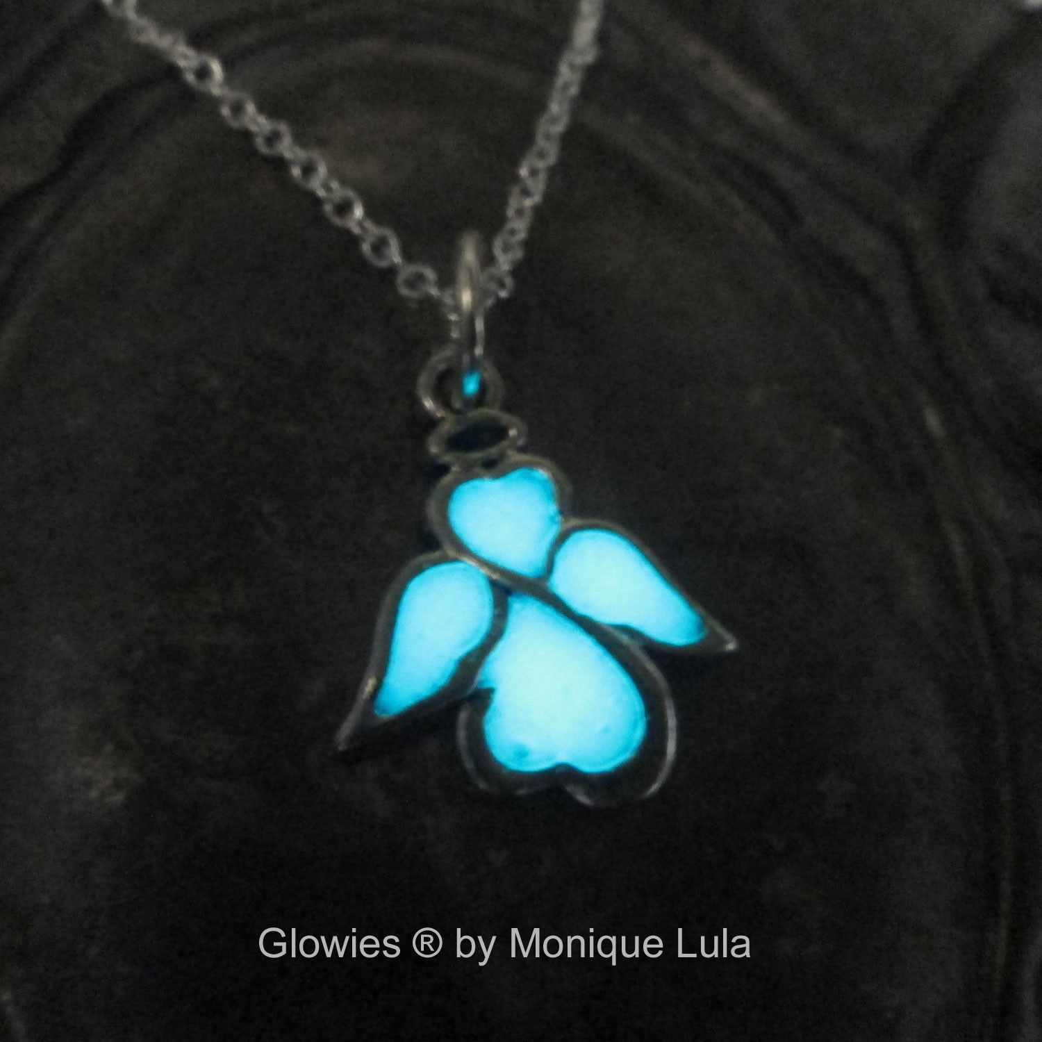 Glowing Angel Necklace