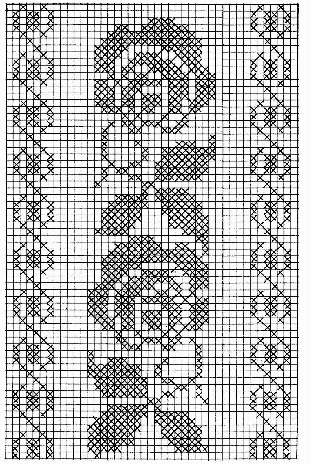 as criações de coros: Diagramas filé livre | Häkeln | Pinterest ...