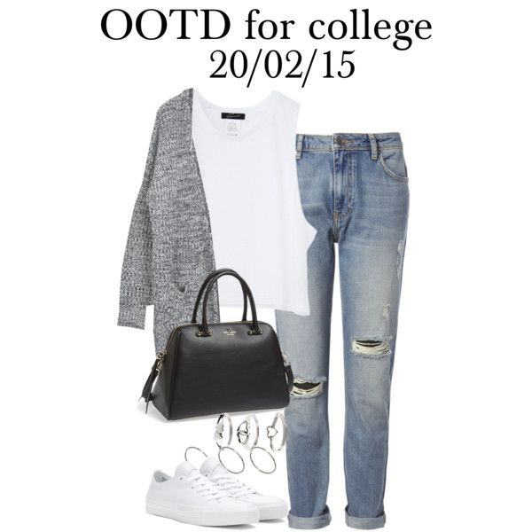 Sin título #4274 by marym96 on Polyvore featuring Whistles, Converse, Kate Spade, Tressa and ASOS