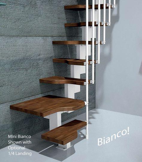 Best Mini Bianco Space Saver Loft Staircase Space Saver Loft Stairs Home Page Spiral Stairs 400 x 300