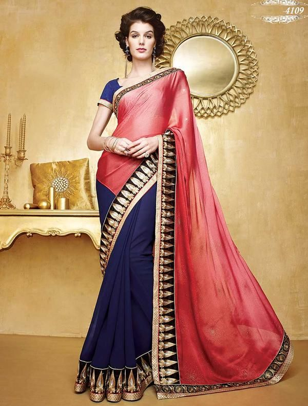 74d36b0170aae6 Saree that speaks your persona -www.cooliyo.com | Desi Couture ...