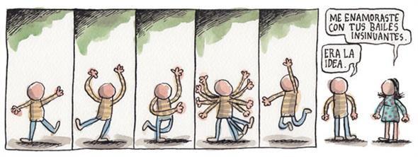 Bailes insinuantes.