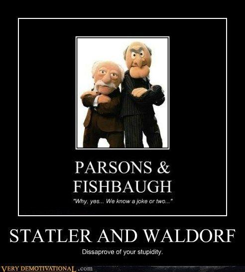 50 Best Statler And Waldorf Images On Pinterest: Waldorf & Statler