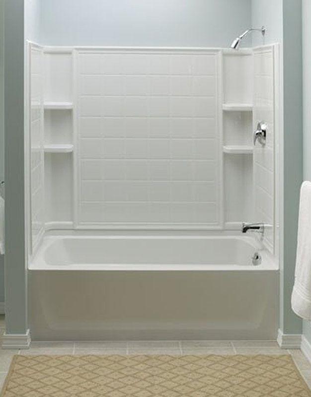 Sterling 71120122 Shower Tub Bathtub Shower Combo Tub Shower Combo