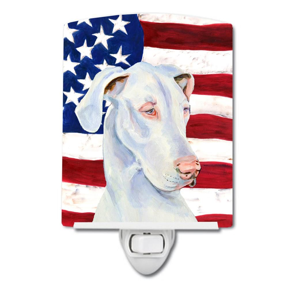 Usa american flag with great dane ceramic night light lh9026cnl usa american flag with great dane ceramic night light lh9026cnl arubaitofo Image collections