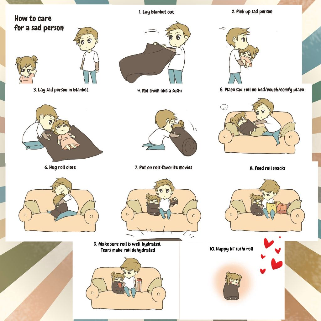 How to care for a sad person | Motivational | Pinterest
