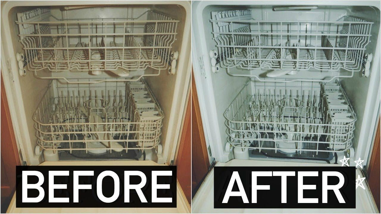 Way To Remove Limescale Buildup Inside A Dishwasher