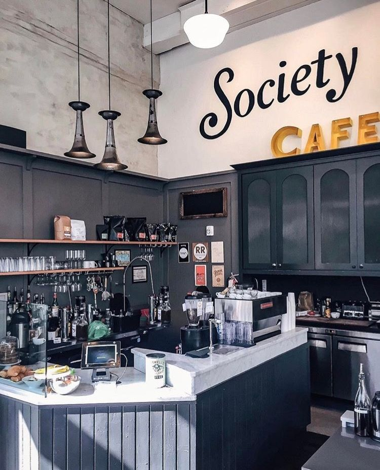Pin by Cassie Champlin on For the Home Coffee shop, Cafe