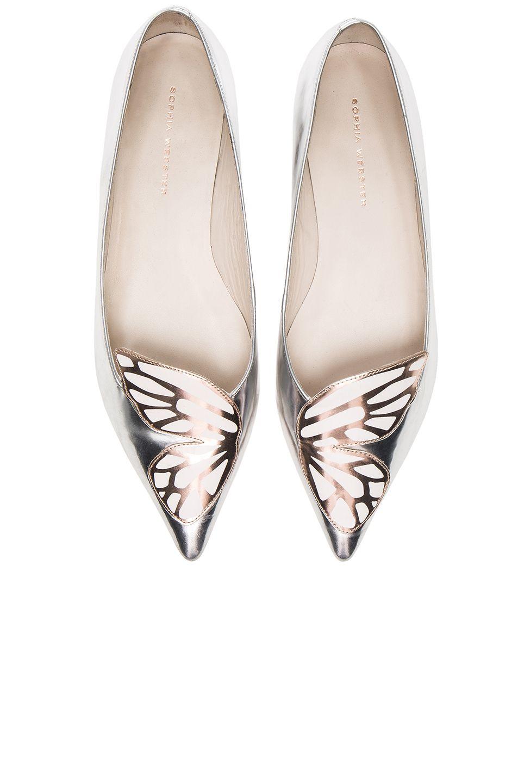 5cf3fdc9c5be SOPHIA WEBSTER Leather Bibi Butterfly Flats.  sophiawebster  shoes ...