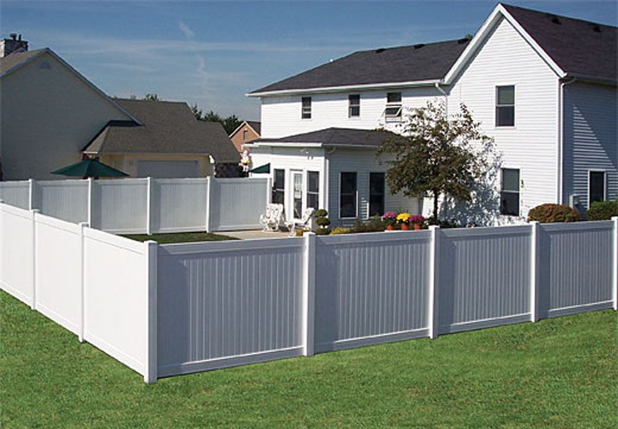 privacy fence white house - Home Fences Designs