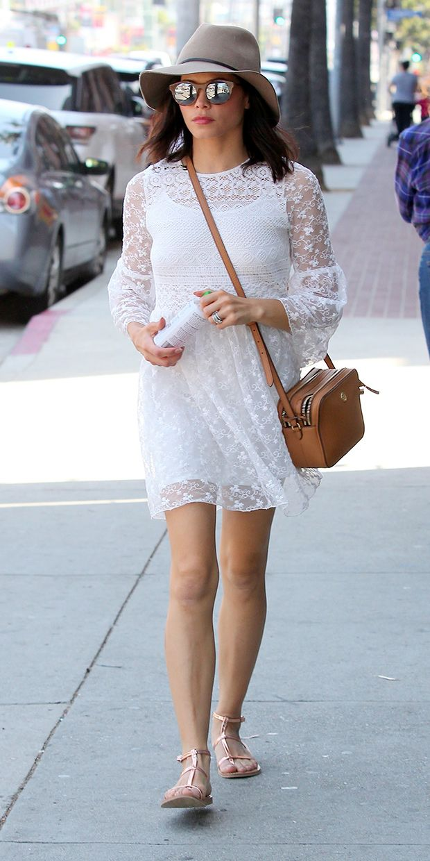 058aa7d16a25 Jenna Dewan s Sweet and Spring-Ready LWD